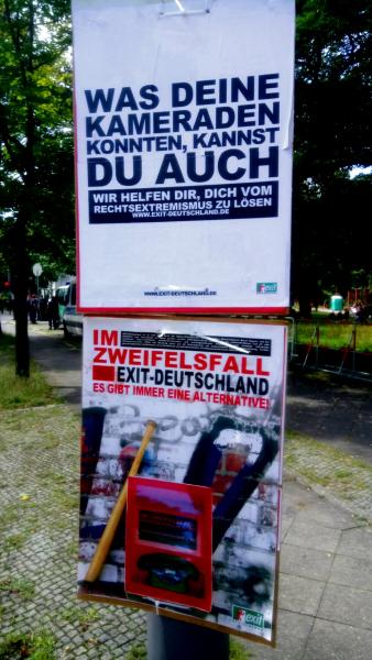 Exit-Plakat